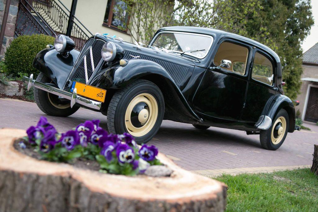 auto na ślub Poznań